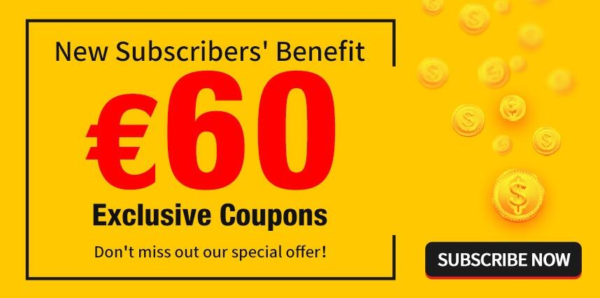 €60 coupon package on gensace.de