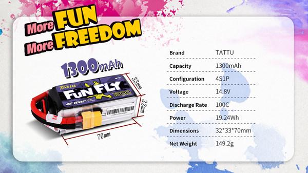 tattu funfly 1300
