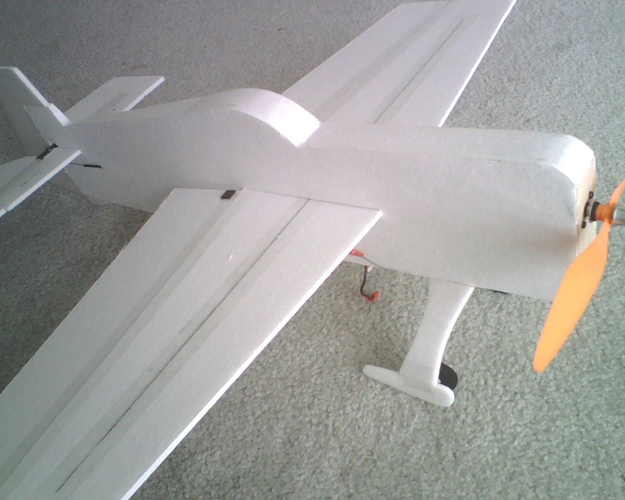 foamy airplane