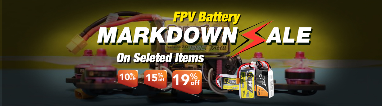 Tattu FPV Battery Markdown Sale