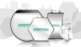 Grepow shaped battery